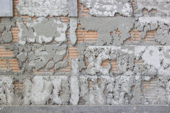 Texture of uneven cement wall Royalty Free Stock Photo