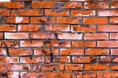 The texture of uneven masonry. Rectangular background brickwork. Royalty Free Stock Photo