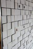 Texture unique de mur Photographie stock libre de droits