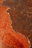Texture unique de surface de lac de sel Images libres de droits