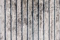 The texture of unpainted old concrete fence. Royalty Free Stock Image