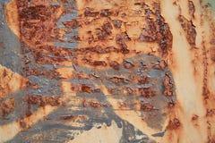 Texture urbaine de rouille Photographie stock libre de droits