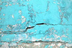 Texture urban wall turquoise color, concrete structure closeup a. Wall texture turquoise color, concrete structure closeup as an urban background stock image