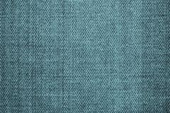 Texture usée de jeans de couleur de turquoise Image stock