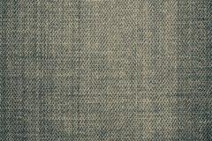 Texture usée de jeans de couleur verte Photographie stock libre de droits