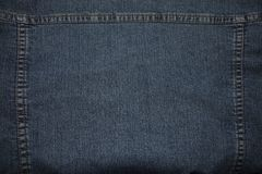 Texture of stitched denim stock images