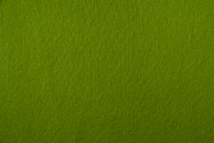 Texture vert clair de feutre Photos stock