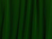 Texture vert-foncé de tissu Image libre de droits
