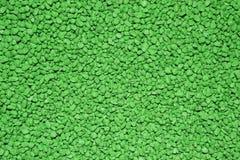 Texture verte de cailloux Photographie stock libre de droits