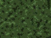 Texture verte de camouflage d'armée de jungle Images libres de droits