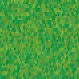 Texture verte de fond de triangles Photographie stock libre de droits