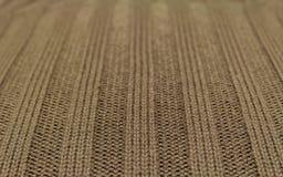 Texture verte de laine Photos stock