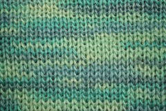 Texture verte de laines Photographie stock