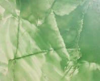 Texture verte de marbel Photos libres de droits