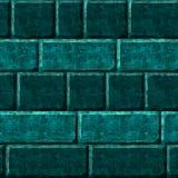 Texture verte de mur Image libre de droits