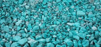 Texture verte de pierre de couleur Image libre de droits