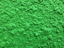 Texture verte de plâtre images stock