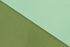 Texture verte de tapis de yoga Photo stock