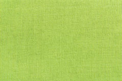 Texture verte de tissu Photo stock