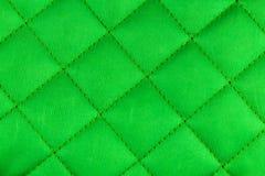 Texture verte de tissu Images libres de droits