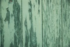 Texture verte en bois de fenêtre antique Photo stock