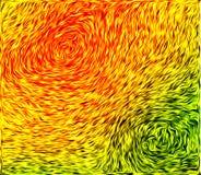 Texture verte orange de wtith Photographie stock libre de droits