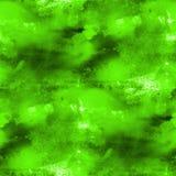 Texture verte sans couture d'art abstrait de cubisme d'artiste illustration libre de droits