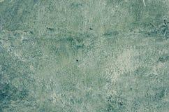 Texture verte usée de fond de mur de peinture Photo libre de droits