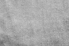 Texture verticale de couleur de gris de tissu Photos libres de droits