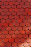 Texture verticale des tuiles Photographie stock