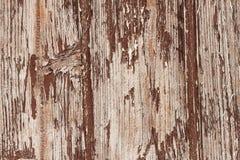 Texture, vieille peinture ébréchée sur le bois, l'impact du temps pour peindre un en bois photographie stock libre de droits