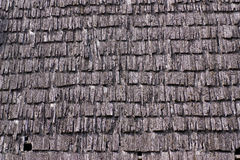 Texture - vieux toit en bois Images libres de droits