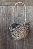 Texture of Vintage Basket Stock Photos