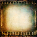 Texture. Vintage film background. Grunge texture Stock Images