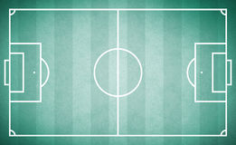 Texture vintage soccer field Royalty Free Stock Photography