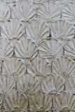 scalloped Decor of wall surface Royalty Free Stock Image