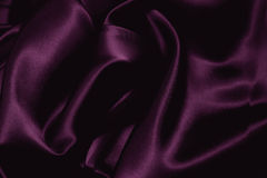 Texture of a violet silk Stock Photos