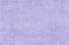 Texture violette de serviette Photo libre de droits