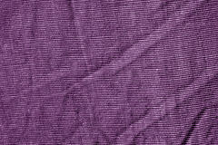 Texture violette de textile de couleur Photo libre de droits