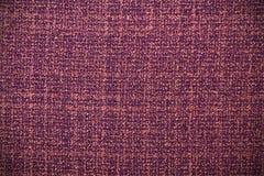 Texture violette de tissu pour le fond Images stock