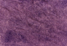 Texture violette de toile de couleur Photo stock