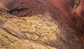 Texture of volcan Royalty Free Stock Photography