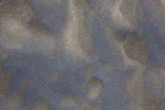 Texture volcanique bleue approximative de sable Photos libres de droits