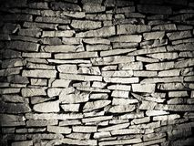Texture of a wall. Black and white texture of a wall Stock Photos