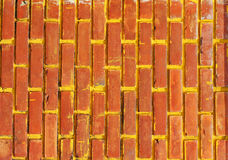 Texture of wall. Red block Royalty Free Stock Photo