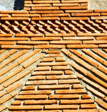 Texture wall in africa     morocco the old brick construction concre Stock Photo