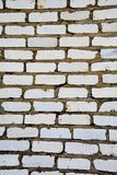Texture. Wall of brick. construction. business. the white brick Stock Image