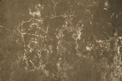 Texture of wall covered with black paint Stock Photos