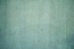 Texture of wall covered with green stucco Stock Images