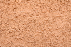 Texture of wall covered with pink stucco Royalty Free Stock Photos